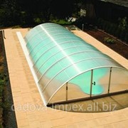 Прозрачный пластиковый павильон фото