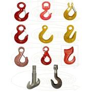Крюки чалочные, вращающиеся, крановые, заготовки крановых крюков фото