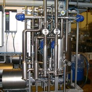 Системы пастеризации, теплообменник фото