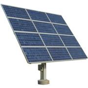 Система креплений солнечных батарей SolarSK одноосная 5х2 фото