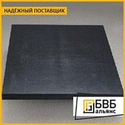 Капролон графитонаполненный лист 100х1000х700 ТУ 6-06-38-89 фото