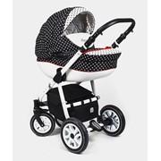 Детская коляска Dada Paradiso Group Glamour Dots 2015 2 в 1 фото