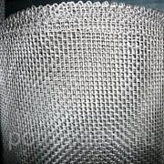 Сетка тканая нержавеющая 3,2х0,8 12Х18Н10Т фото