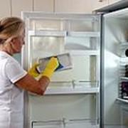 Помыть холодильник фото