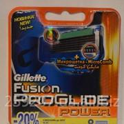 Сменная насадка Gillette Fusion Proglide Power фото