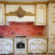 Кухни элитные с инкрустацией золота фото