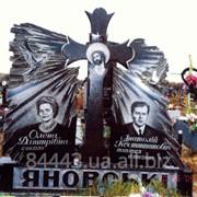 Памятник гранитный для двоих №218 фото