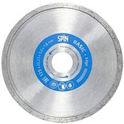 "Диск алмазный, сплошная кромка, влажный рез, 115х22,23х5x1,8 мм ""Spin Edge Basic"" фото"