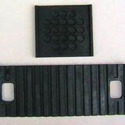 Прокладки резиновые для рельсового пути типа ПР и ПНБ фото