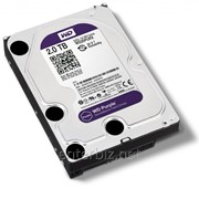 Накопитель HDD SATA 2.0TB WD Purple 5400rpm 64MB (WD20PURX) фото