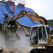 Демонтаж домов и конструкций в Алматы. фото