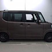 Микровэн HONDA N BOX кузов JF1 класса минивэн модификация SS Package гв 2014 пробег 62 тыс км цвет темно-серый фото