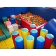 Детский сухой бассейн с шариками, мягкий конструктор, мягкие игровые наборы фото