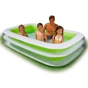 Детский надувной бассейн 262х175х56см Ванна 749л, от 6 лет фото