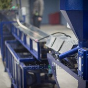 Экструзионные линии для переработки ПВХ,ТЭП ПЭ, ПП фото