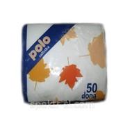 Салфетки бумажные Polo фото