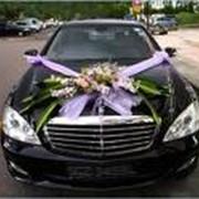 Украшение свадебных автомобилей, оформление свадеб. фото