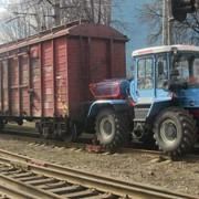 Мотовоз маневровый ММТ-2 на базе тракторов ХТЗ-150К-09-25, ХТЗ-17221-03, ХТА-200(220) фото