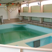 Полимерные покрытия полов, бассейнов фото