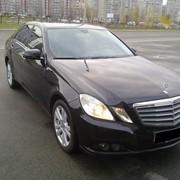 Аренда прокат автомобиля с водителем, авто на свадьбу Mercedes E class фото