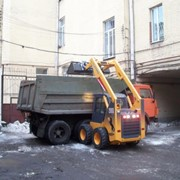 Уборка снега в Киеве.Киев центр. фото
