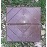 Форма для плитки тротуарной Кирпич Паркет фото