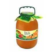 Яблочно-абрикосовый сок в баке фото