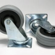 Ролик мебельный резиновый D50 фото