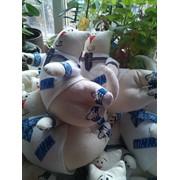 Корпоративная мягкая игрушка, декоративная подушка, изготовление на заказ. фото