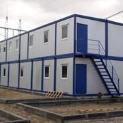 Строительные общежития. фото