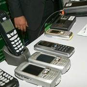 Монтаж систем подвижной связи. фото