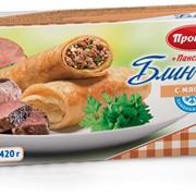 Блинчики Панские с мясом фото