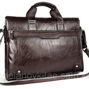 Мужской кожаный портфель M0007 фото