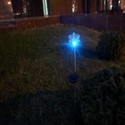 """Садовый светильник """"Снежинка"""" фото"""