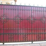 Ворота откатные в Алматы фото