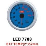 Прибор Ket Gauge LED 7708 температура выхлопных газов. фото