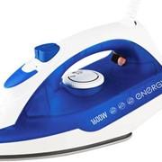 Утюг с паром Energy EN-327 1600Вт (тефлоновая подошва) синий фото