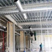 Монтаж и проектирование систем вентиляции фото