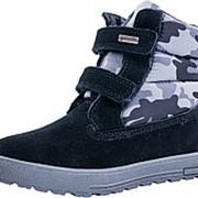 554031-42 черный ботинки дошкольно-школьные комбинирован. Р-р 35 фото