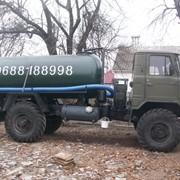 Ассенизатор. Выкачка выгребных ям туалетов в Житомире. фото