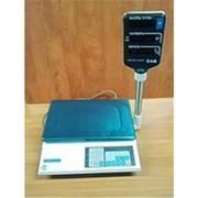 Весы CAS AP-1 0,9 т со стойкой фото
