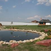 Реконструкция и строительство водоемов, создание биоплато фото