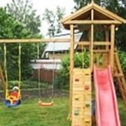 Детские игровые комплексы для дачи марки Китеж фото