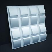 Гипсовая 3D панель 3 фото
