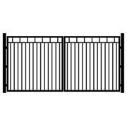 Ворота и калитки из профильной трубы и оцинкованного профиля фото