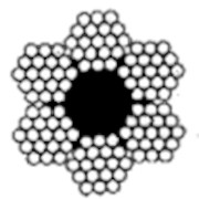 Канат двойной свивки типа ЛК–Р фото