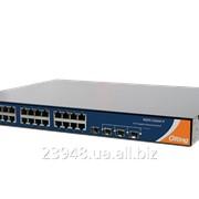"""Коммутатор промышленный Ethernet 19"""" RGPS-7244GP / RGPS-7244GP-P фото"""