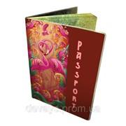 Оригинальная обложка для паспорта Фламинго фото