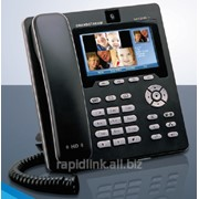 Мультимедийный IP телефон-Цветной цифровой ЖК 4.3 дюймовый экран с разрешением 480х272 пикселей и со встроенной видеокамерой фото