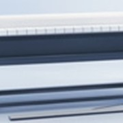 Гладильная машина PM 1418 электронагрев, покрытие вала ламелями, моторизованная подача белья фото
